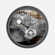Steampunk, clocks and gears Wall Clock
