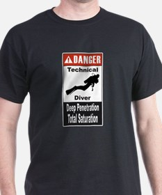 Danger Tech Diver T-Shirt