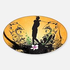 Sport, golfer Decal