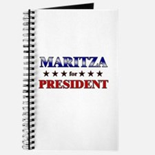 MARITZA for president Journal