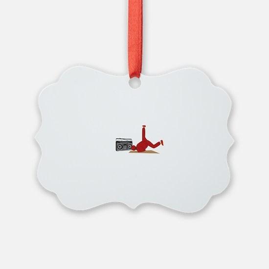 Break Dancer Ornament