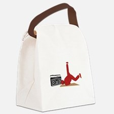 Break Dancer Canvas Lunch Bag