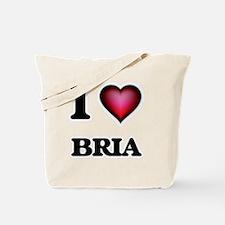 I Love Bria Tote Bag