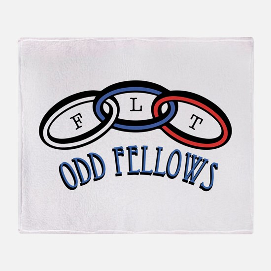 Odd Fellows Throw Blanket