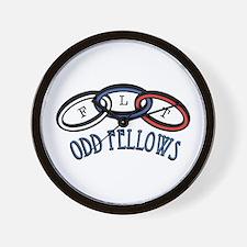 Odd Fellows Wall Clock