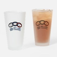 Odd Fellows Drinking Glass