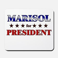 MARISOL for president Mousepad