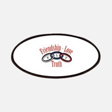 Friendship Love Truth Patch