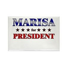 MARISA for president Rectangle Magnet