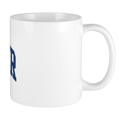 stalker design blue mug by surnamealot