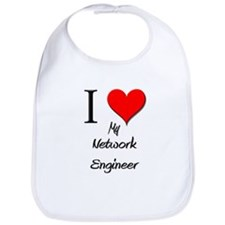I Love My Network Engineer Bib