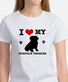 I Love My Norfolk Terrier Women's T-Shirt