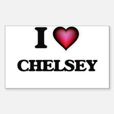 I Love Chelsey Decal