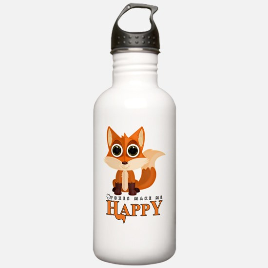 Funny Fox Water Bottle