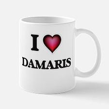 I Love Damaris Mugs