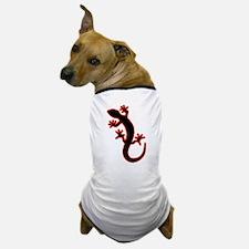 Gecko black Dog T-Shirt