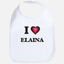 I Love Elaina Bib