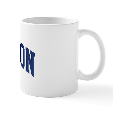 SPURGEON design (blue) Mug