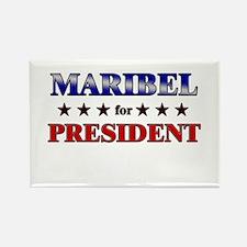 MARIBEL for president Rectangle Magnet