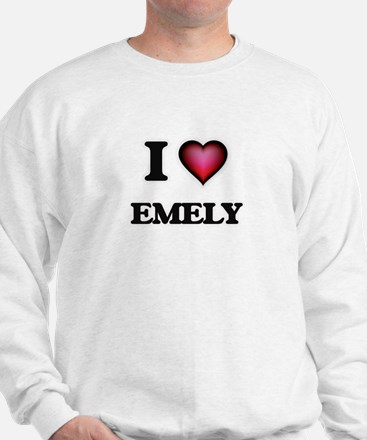 I Love Emely Sweater