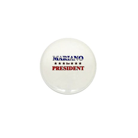 MARIANO for president Mini Button (10 pack)