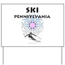 TOP Ski Pennsylvania Yard Sign