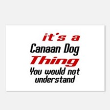 Canaan Dog Thing Designs Postcards (Package of 8)