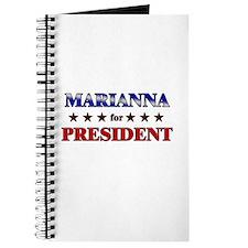 MARIANNA for president Journal