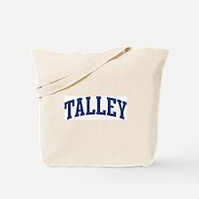 TALLEY design (blue) Tote Bag