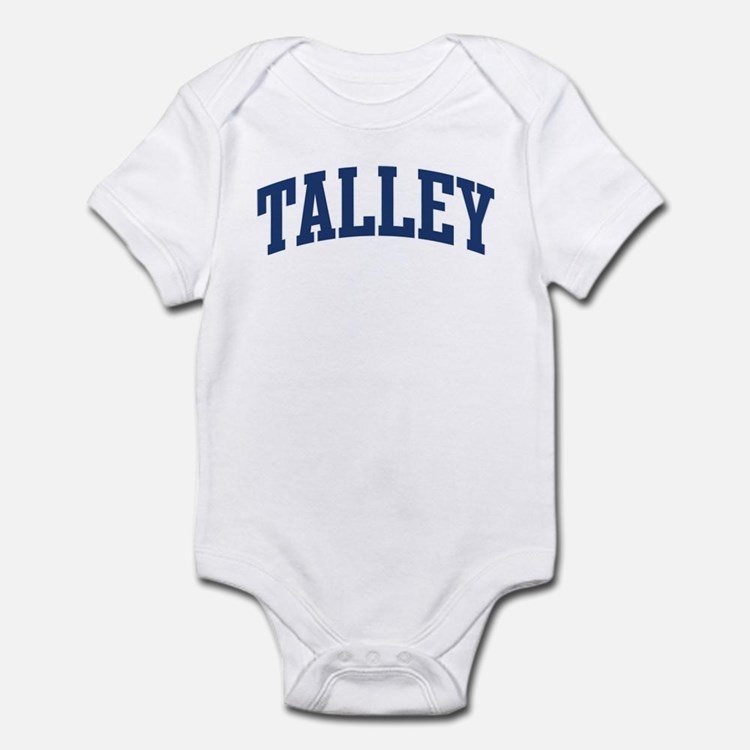 TALLEY design (blue) Infant Bodysuit