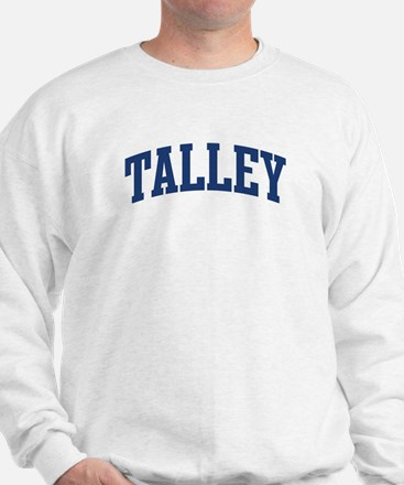 TALLEY design (blue) Sweatshirt