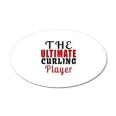 The Ultimate Curling Player Wall Decal