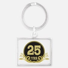 25th Wedding Anniversary gift Keychains