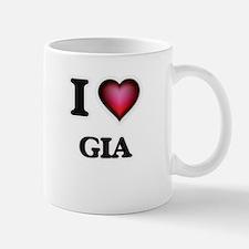 I Love Gia Mugs