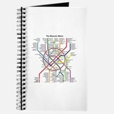 METRO MAPS - MOSCOW - RUSSIA. Journal