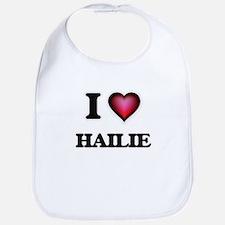 I Love Hailie Bib