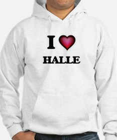 I Love Halle Jumper Hoody
