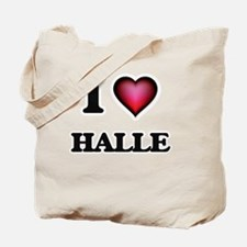 I Love Halle Tote Bag