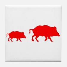 Pigs Tile Coaster