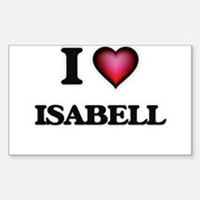 I Love Isabell Decal