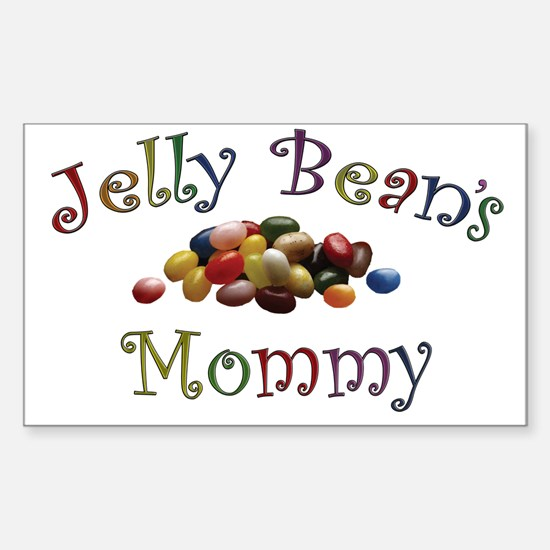 Jelly Bean's Mommy Rectangle Decal