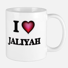 I Love Jaliyah Mugs
