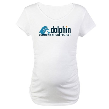 Dolphin Communication Project Maternity T-Shirt