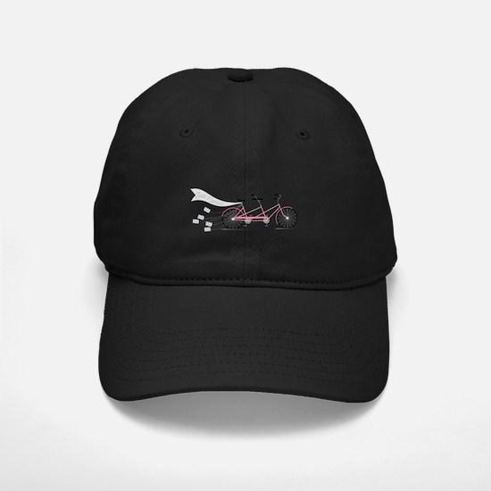 Just Married Bike Baseball Hat