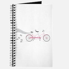 Just Married Bike Journal
