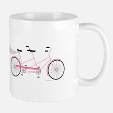 Just Married Bike Mugs