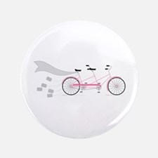 Wedding Tandem Bike Button