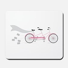 Wedding Tandem Bike Mousepad