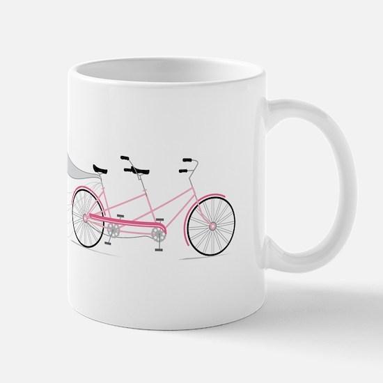 Wedding Tandem Bike Mugs