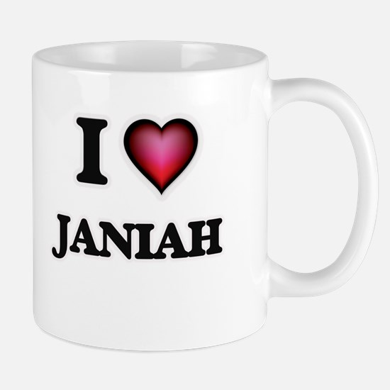 I Love Janiah Mugs